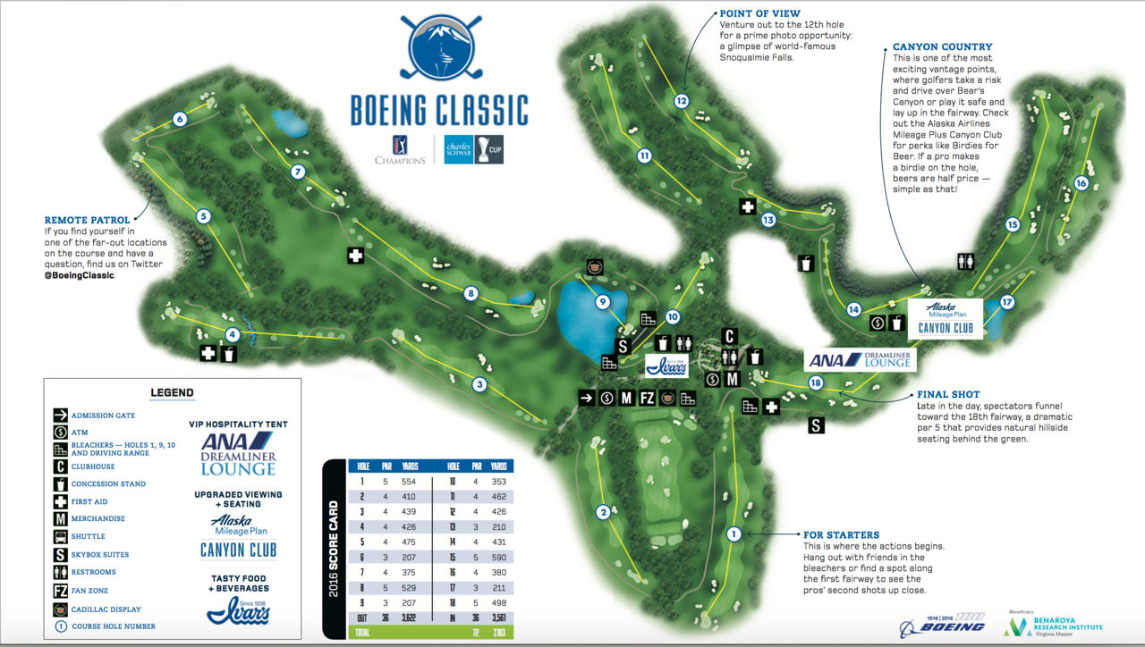 Course Map Boeing Classic